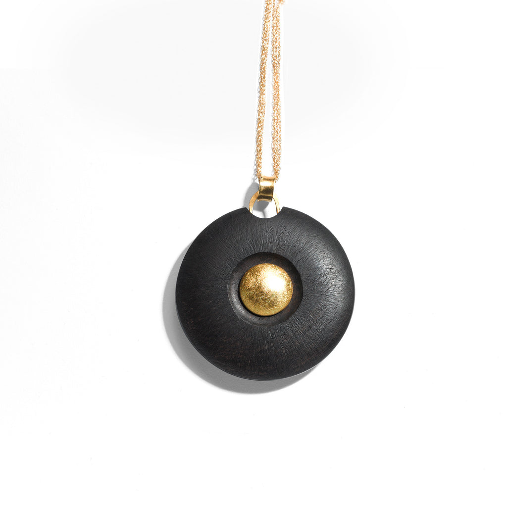 Round Midnight Necklace