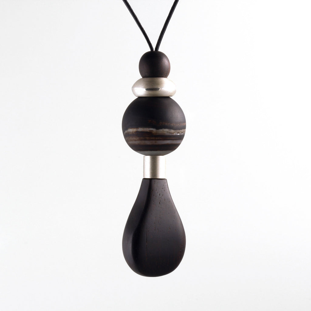 Brown Agate Totem Pendant