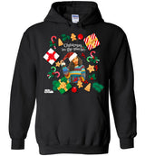 "Urban Beat Gear ""Xmas in the House"" Unisex Hoodie"