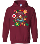 "Urban Beat Gear ""Xmas in the House"" Unisex Hoodie - NY Based Hip-Hop Shirts"