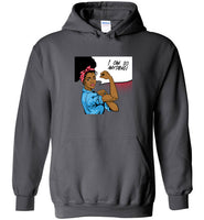 Rosie the Riveter Black Woman Unisex Hoodie