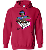"Urban Beat Gear ""AceBeat DJ"" Unisex Hoodie - NY Based Hip-Hop Shirts"
