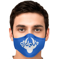 DJ Dove Face Mask - Blue