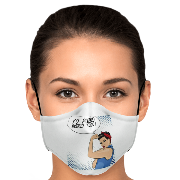 Rosie the Riveter Latin (in Spanish) Face Mask