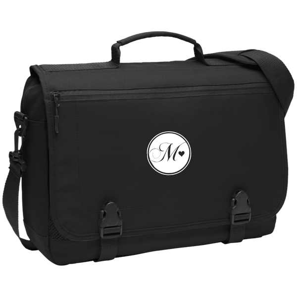 Momi Knows Best Messenger Briefcase