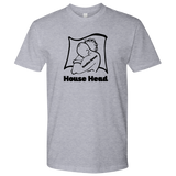 "Urban Beat Gear ""Garage House Head"" Unisex T-Shirt - Black Logo - City Phrases"
