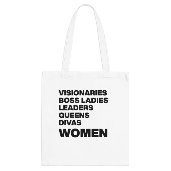 Empowered WOMEN List Tote Bag