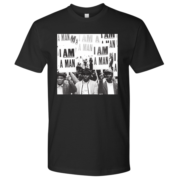 """I am a Man"" Unisex T-Shirt - NY Based Hip-Hop Shirts"