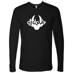 DJ Dove Unisex Long Sleeve T-Shirt - White Logo - NY Based Hip-Hop Shirts