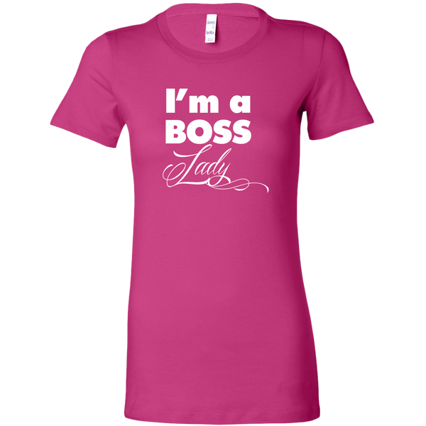 I'm a Boss Lady Ladies Shirt