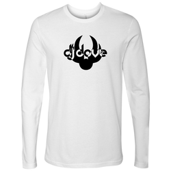 DJ Dove Unisex Long Sleeve T-Shirt - Black Logo - NY Based Hip-Hop Shirts