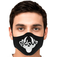 DJ Dove Face Mask - Black