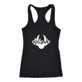 DJ Dove Racerback Tank - White Logo - NY Based Hip-Hop Shirts