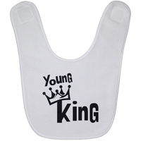 "Urban Beat Gear - ""Young King"" Baby Bib"