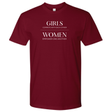 Girls vs. Women Unisex T-Shirt