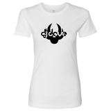 DJ Dove Women's T-Shirt - Black Logo - City Phrases