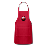 Momi Knows Best - Training Day: Adjustable Apron - red