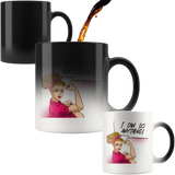 Rosie the Riveter Caucasian Woman Mug