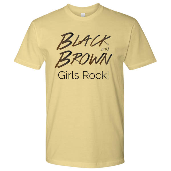 "Urban Beat Gear ""Black and Brown Girls Rock!"" Unisex T-Shirt - NY Based Hip-Hop Shirts"