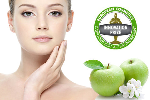 PHYTOCELLTEC™ MALUS DOMESTICA; is a patented liposomal preparation based on the stem cells of a rare Swiss apple.