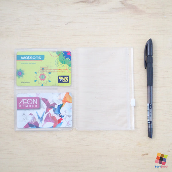 Travelers Notebook Plastic - Passport Size