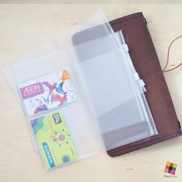 Travelers Notebook Plastic - Pocket Size