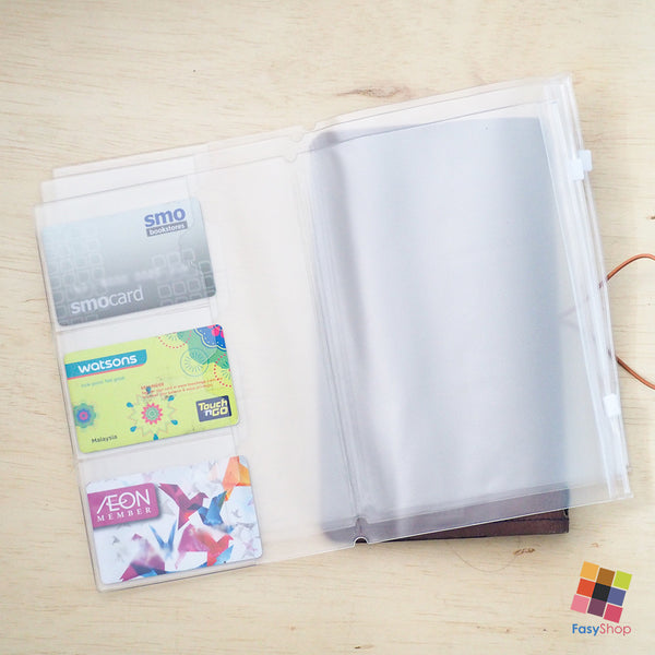 Travelers Notebook Plastic - A5 Size - FasyShop