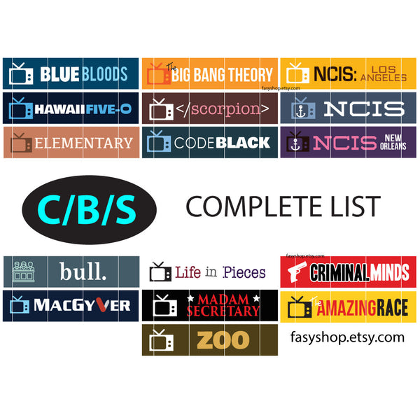 CBS - US TV Series 2017-2018 Schedule
