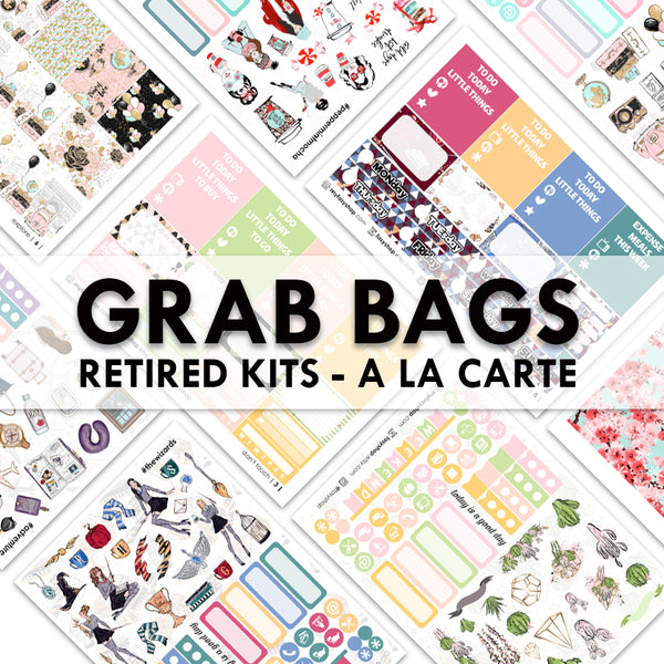 Grab Bags Kits Retired - A La Carte Sheets
