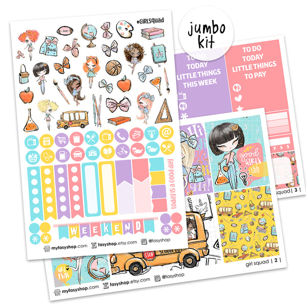 25% OFF! New! - Girl Squad - Weekly Kit - FasyShop