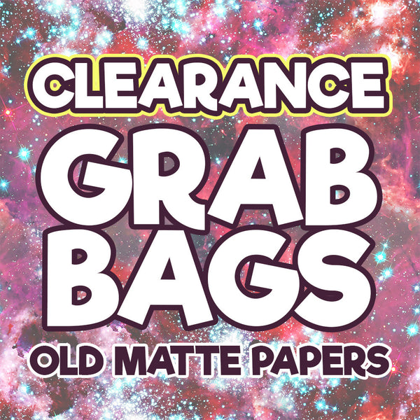 Clearance Grab Bags - Old Matte Papers