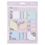 Erin Condren Snap-in StylizedSticky Notes - Blossom