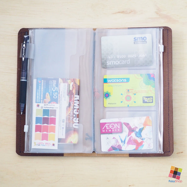 Travelers Notebook Plastic - Standard Size (EXTRA)