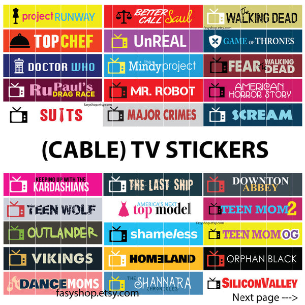 Cable Network  - US TV Series 2017 Schedule