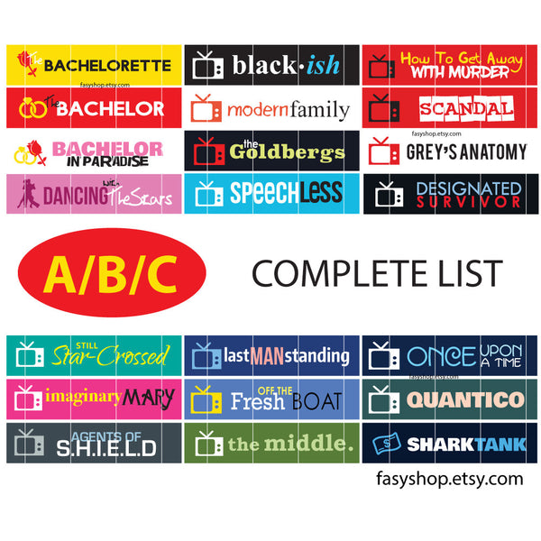 ABC - US TV Series 2017-2018 Schedule - FasyShop