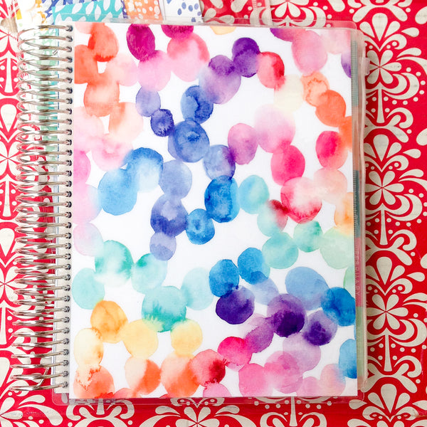 Erin Condren 2018 Life Planner - VERTICAL + COLOURFUL - bubble