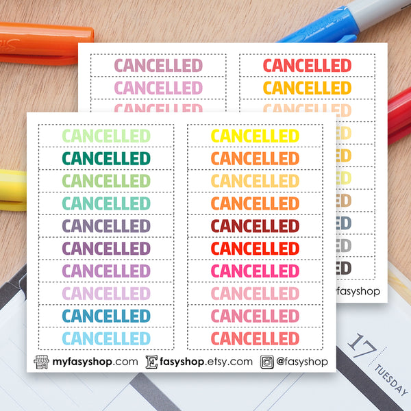 40 Cancelled - White Background