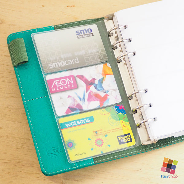Clearance - Card Pockets - A5 | A6 Planner - FasyShop