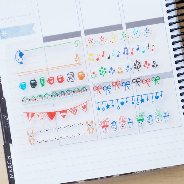 Banners Collection - Clear Stamp Set
