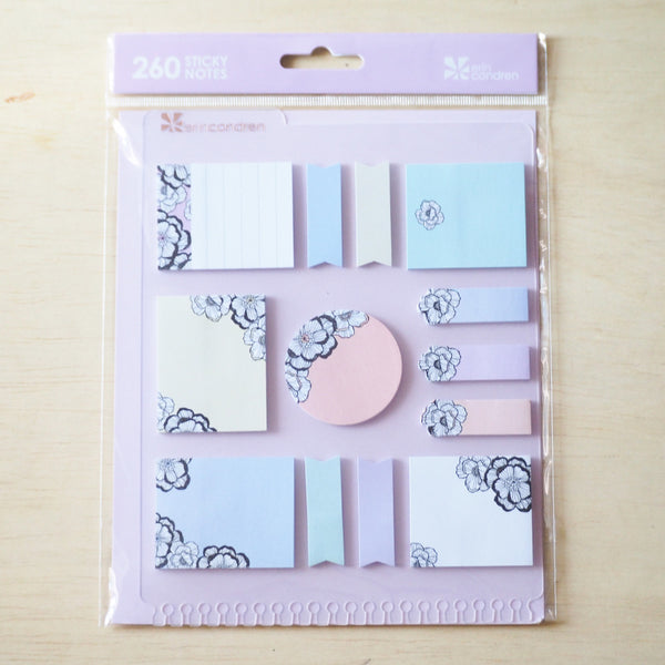 Erin Condren Snap-in StylizedSticky Notes - Blossom - FasyShop