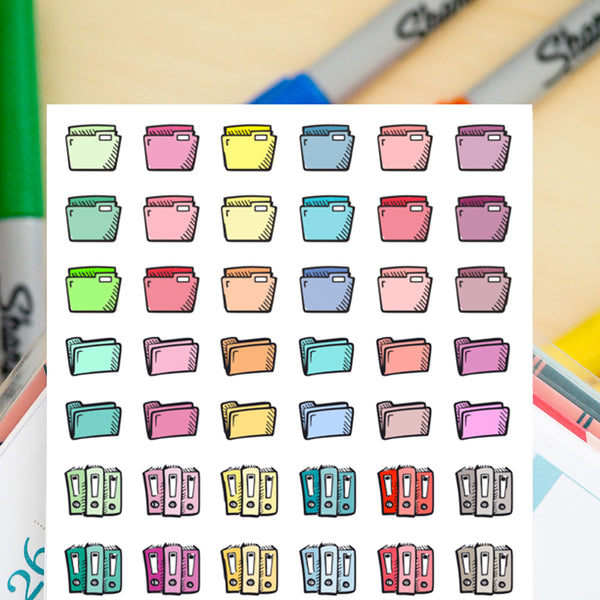 48 Files | Organization Doodles - FasyShop