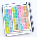 112 Glitter Headers - Duo Sheets - FasyShop
