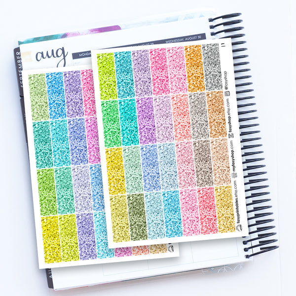 112 Glitter Headers - Duo Sheets