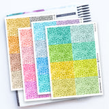 256 Glitter Headers - Pack A - FasyShop