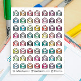 56 Happy Mails Doodles - FasyShop