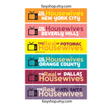 The Real Housewives - TV Shows Stickers - FasyShop