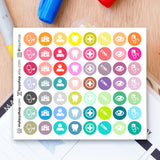 56 Medical Set - Tiny Icons - FasyShop