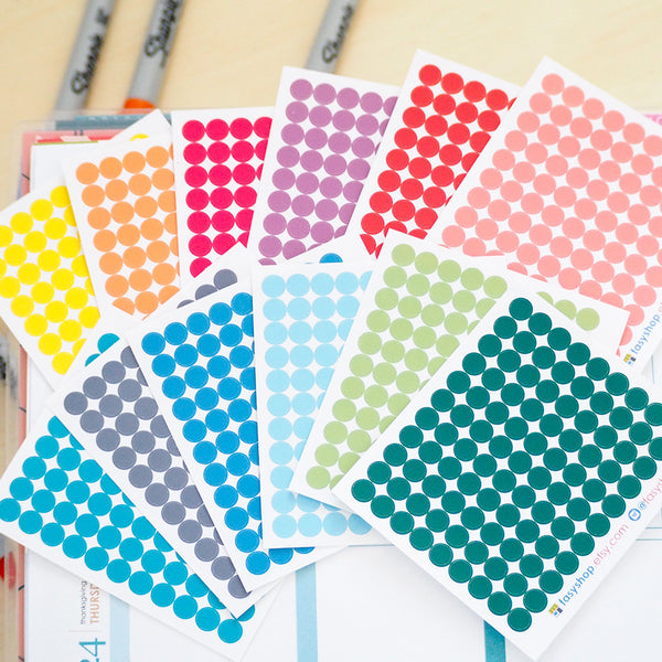 99 Mini Dots | 12 Colors Choices - FasyShop