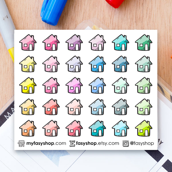 30 House | Home Doodles - FasyShop