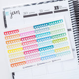 Clearance - 32 Period Tracker Strips - FasyShop